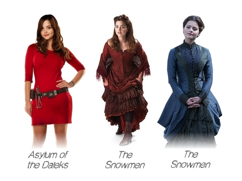 doctorwhoclaraoutfits